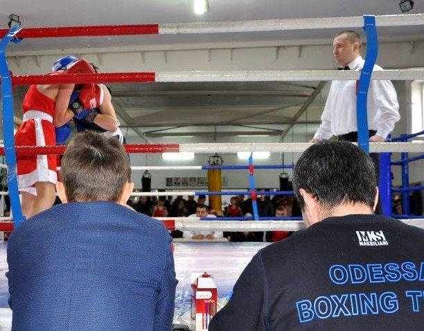 Чемпионат Одесской области среди боксеров трех возрастных категорий