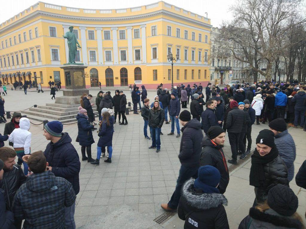 фейковый митинг в Одессе 2019