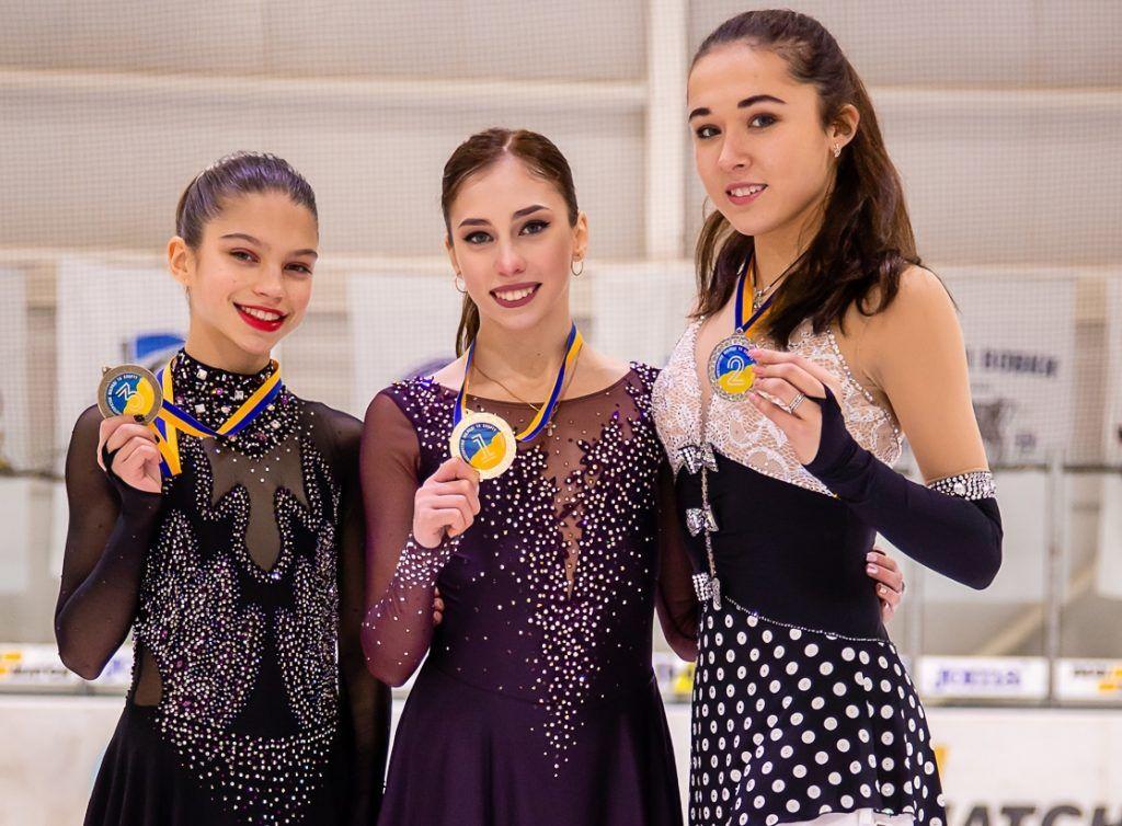 Первые победы одесских фигуристов в 2019 году