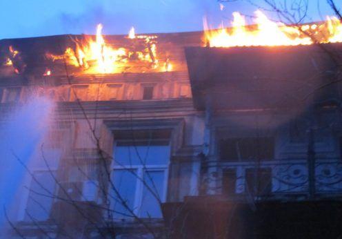 пожар Ришельевская