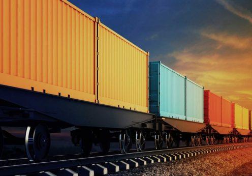контейнерный поезд