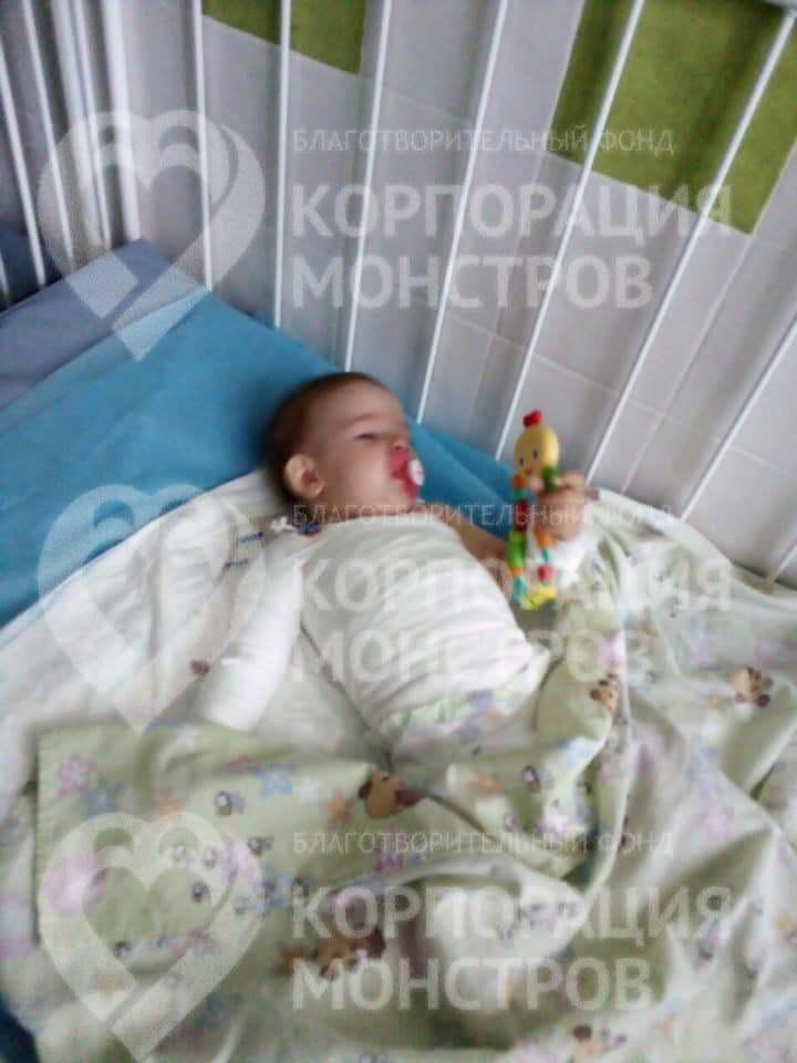 В Одессе спасают ребенка, получившего 25% ожогов тела
