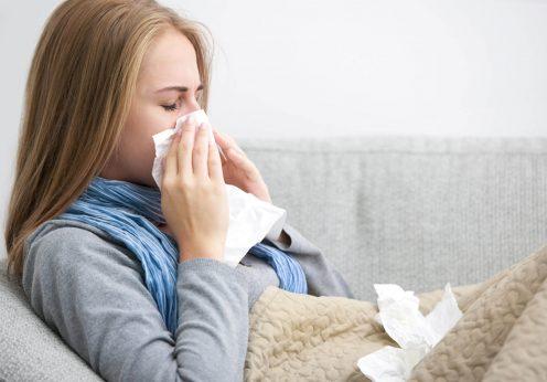 В Одессе заболеваемость гриппом и ОРВИ превысила эпидпорог