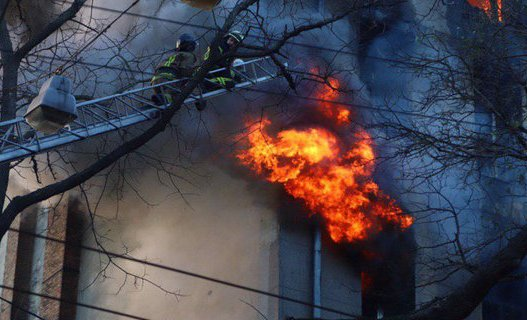 В колледже, где произошел смертельный пожар, не было сигнализации — ГСЧС