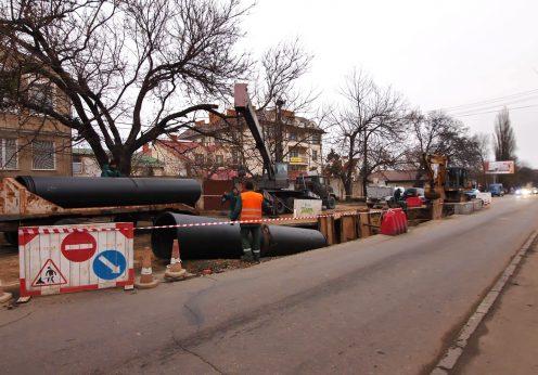 На улице Львовской в Одессе решили проблему провалов дороги