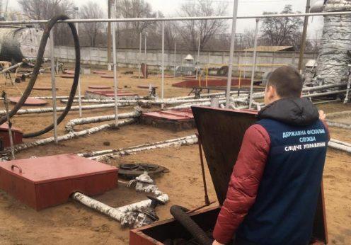 В Одесской области обнаружили подпольный цех по производству горючего (ФОТО)