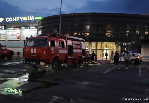В одесском «Сити-Центре» горела операторская кинотеатра