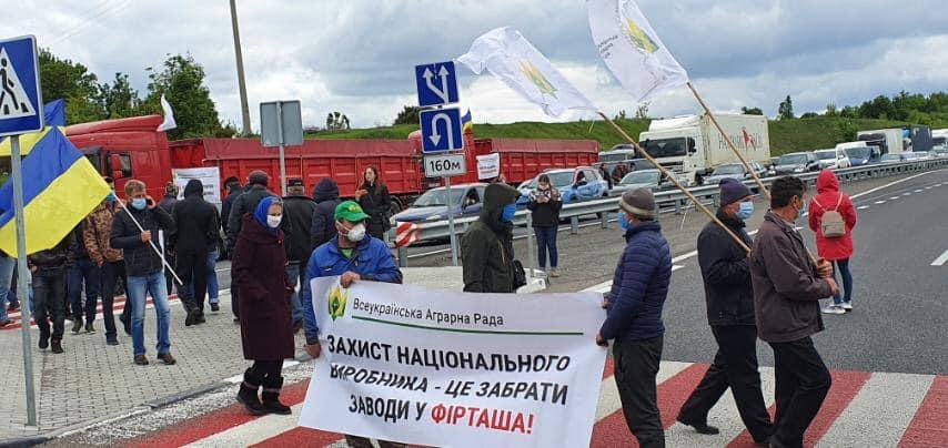 На Украине впервые начались стихийные митинги. Население доведено до отчаяния