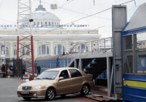 Вагон-автомобилевоз