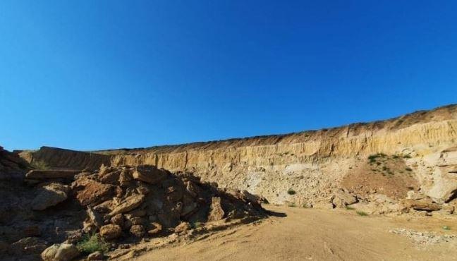 Добыча песка незаконная