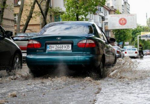 Ливень в Одессе