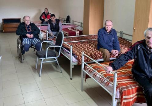 Приют для бездомных стариков