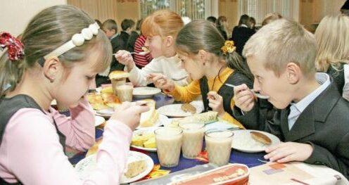 Школьное питание дети еда