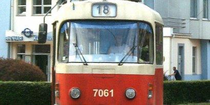 Трамвай № 18