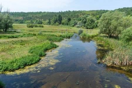 Ягарлык русло реки