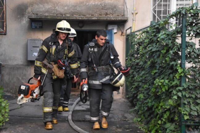 пожар на Балковской