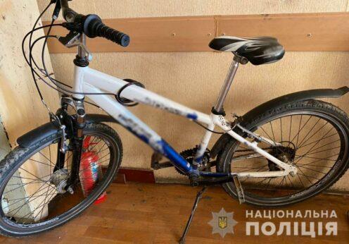 Велосипед, ограбление