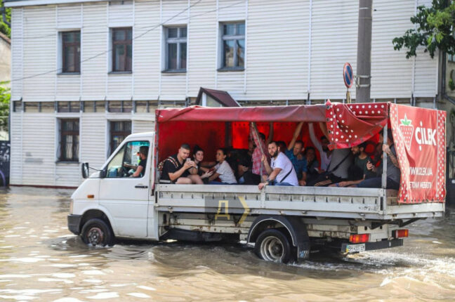 Бизнес на потопе в Одессе