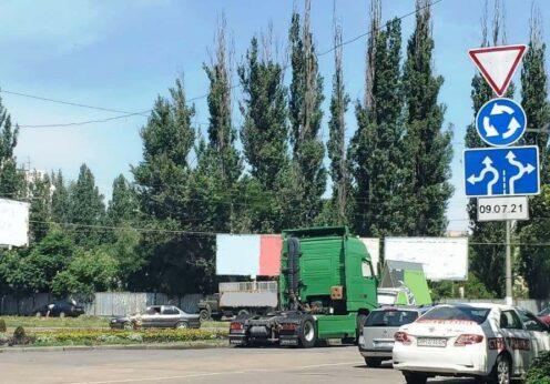 С 9 июля – круговое движение на перекрестке Добровольского и Заболотного