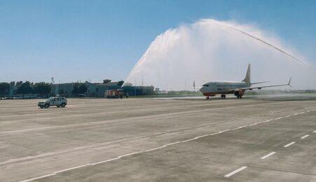 Новая взлетно-посадочная полоса в одесском аэропорту