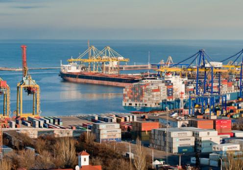 новый контейнерный терминал Одесса порт