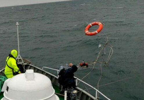 Sea Breeze 2021: парашютиста унесло в открытое море