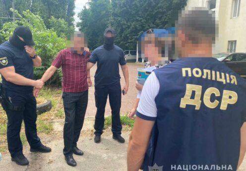 В Одессе чиновника задержали при получении взятки