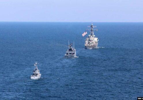 В акватории Черного моря проходят учения Sea Breeze 2021