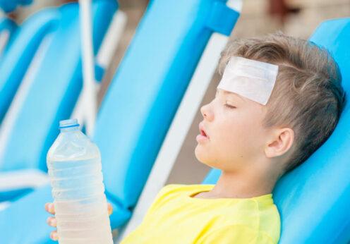 тепловой удар профилактика дети Одесса-2