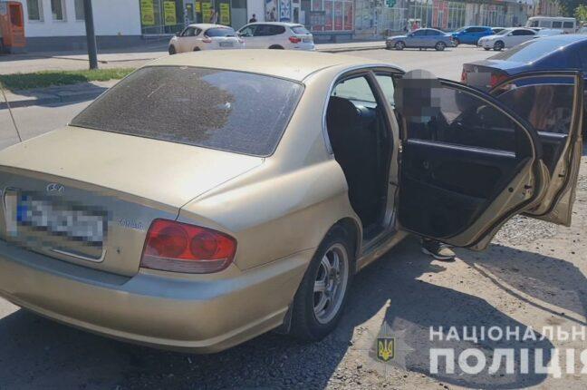 Иностранцы ограбили машину одессита