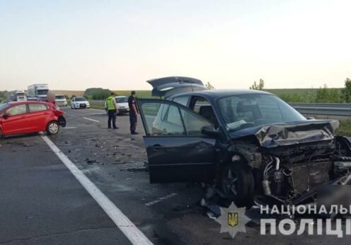 Авария на трассе Одесса-Киев