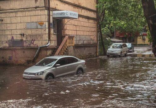 В Одессе создадут карту подтоплений