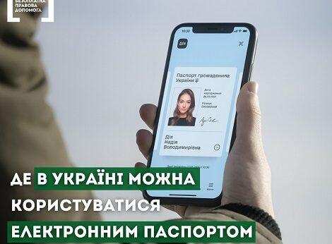 Электронный паспорт Дiя