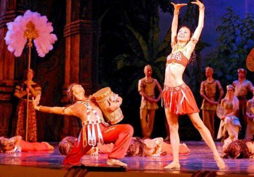 """балет """"Баядерка"""""""