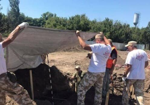 Поисковые работы на 6-ом км Одесса