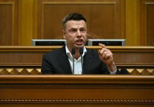 Одессита Гончаренко выдвинули на должность спикера Верховной Рады