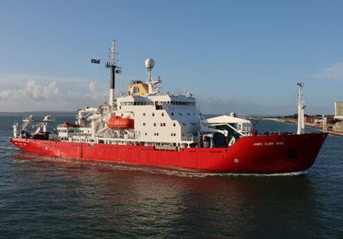 Купленный Украиной ледокол прибыл в Одессу