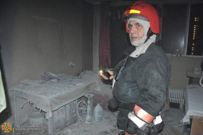 пожар в одесском общежитии