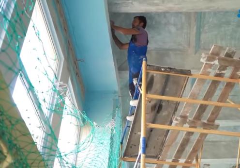 Василий Иеремия добился ремонта в школе №1 22