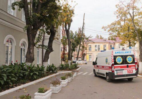 В Одессе развернут дополнительные койки для пациентов с COVID-19